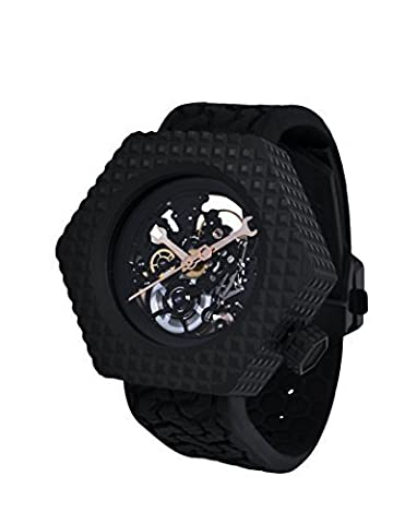 Greco Geneve Les Temps Modernes watch (Geneva See Through Watch)