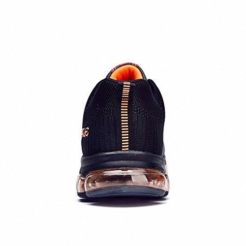 Ben Sports hombre Zapatillas de Zapatos de cordones Calzado deportivo Calzado de correr en montaña de hombre gris