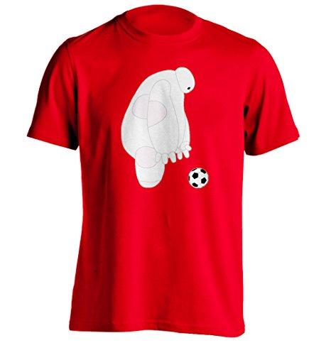 BAYMAX PLAYING SOCCOR - Mens Custom Printing T Shirt Personalized Tee