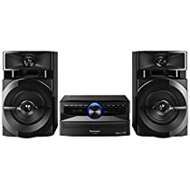 Panasonic SCUX100EK Home audio mini system 300W Negro sistema de