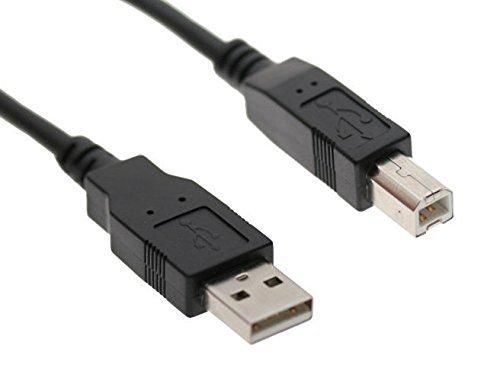 MaxLLTo 3 Feet USB Cable Data Transfer Host Cable For Akai Professional MPK25 MPK49 MPK61 MPK88 MPK Mini Mk2 LPK25 APC40 Akai Professional MIDI Keyboard midi Controller Keyboard PC Cord