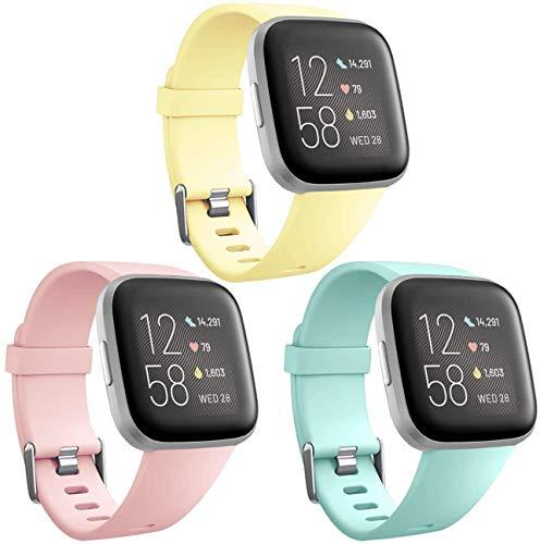 3 Mallas Large p/ Reloj Fitbit Versa, 2, Lite Color Img MGPC