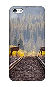 Jersey City High-quality Durability Case For Iphone 5c(animal Deer Nature Hd Forest)