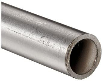"Stainless Steel 304L Seamless Round Tubing, 1/4"" OD, 0.12"" ID, 0.065"" Wall, 72"" Length"