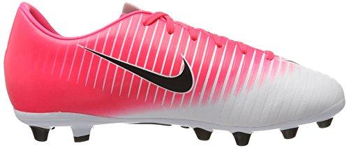 Nike Unisex-Kinder Jr Mercurial Vapor Xi Ag-Pro Fußballschuhe Pink (Racer Pink/Black-White-White)