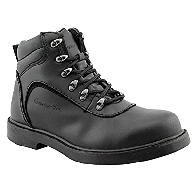 Genuine Grip Footwear Men's Slip-Resistant Steel Toe Boot | Industrial & Construction Boots