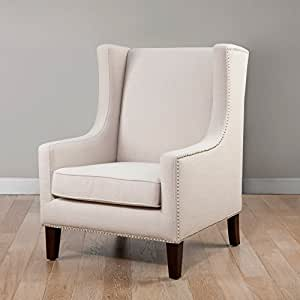 Metro Shop Biltmore Wing Lindy Chair Cream By Metro Shop