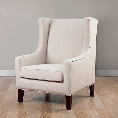 Metro Shop Biltmore Wing Lindy Chair-Cream by Metro Shop