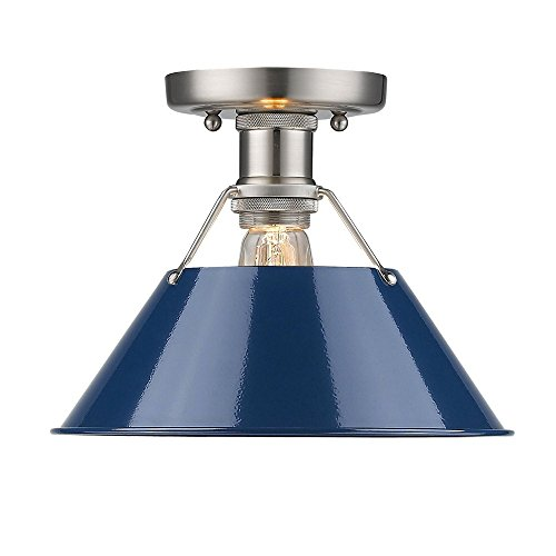 Navy Blue Pendant Light in Florida - 6