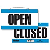 Headline Sign 9384 Double-Sided Open/Closed, 6-Inch by 11-Inch