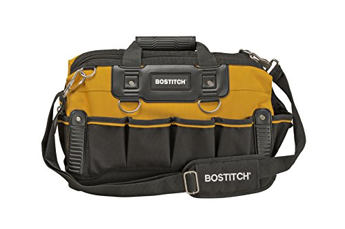 Open Mouth Bag - BOSTITCH BTST516155 Open Mouth Tool Bag, 16-Inch