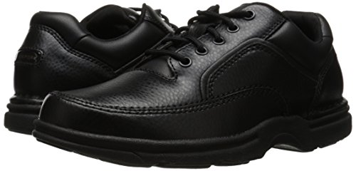 Rockport Eureka Hombre US 11.5 Negro Grande Zapatos para Caminar UK 11