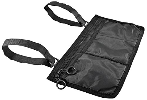 - Secure WWP-1B Storage Bag for Wheelchair Walker Rollator, Black - Mobility Aid Storage Pouch Accessory for Elderly, Seniors, Disabled - Hands Free Arm Rest Tote Caddy