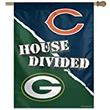 NFL Chicago Bears 48754012 Vertical Flag, Small, Black