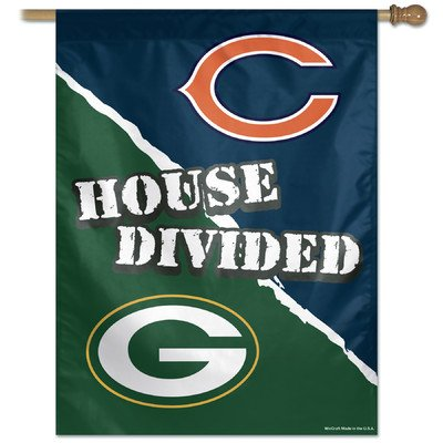 NFL Chicago Bears 48754012 Vertical Flag, Small, Black by WinCraft