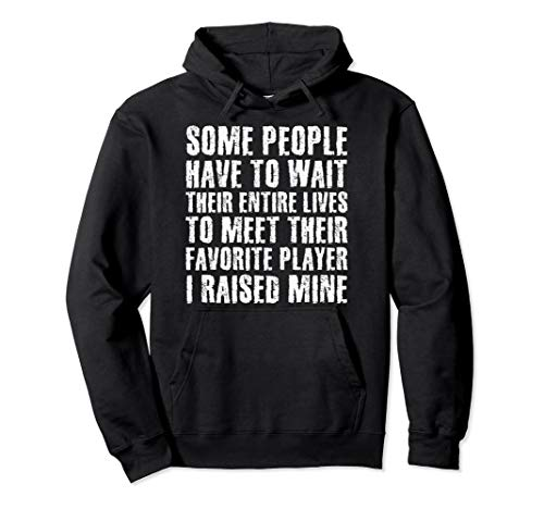 MEET FAVORITE PLAYER RAISED MINE Hood Funny Soccer Gift Idea - T-shirt Quote Soccer