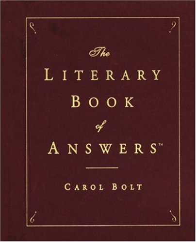 Read Online The Literary Book of Answers pdf