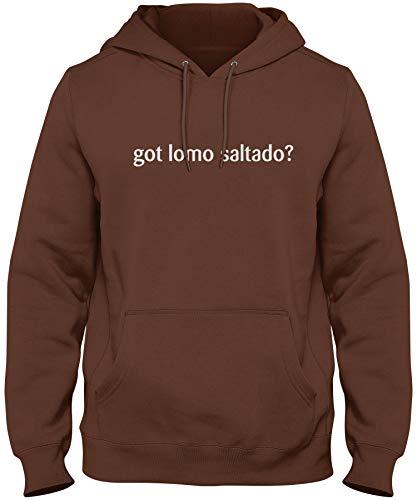 shirtloco Men's Got Lomo Saltado Hoodie Sweatshirt, Chocolate Extra Large