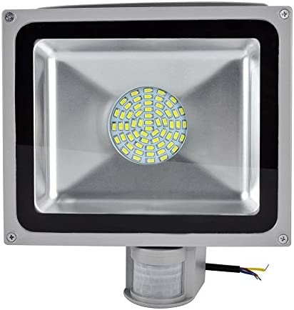 50W SMD Foco LED con Sensor Movimiento,Proyector LED Exterior ...