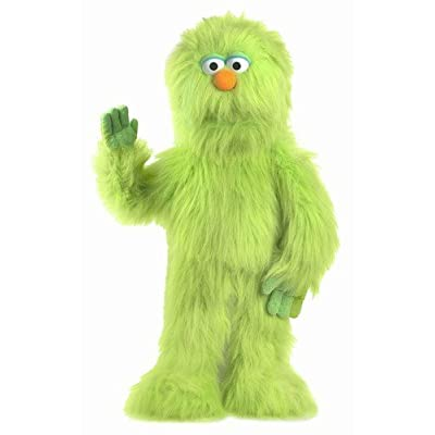 """30"""" Monster (Green) by Silly Puppets"""