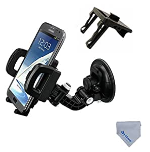 flystone air heavy duty universal car mount holder fits for iphone 6 6plus 5 5s 5c. Black Bedroom Furniture Sets. Home Design Ideas