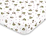 Little-Bedding-by-NoJo-Little-Monkeys-3-Piece-Porta-CribMini-Crib-Nursery-Bedding-Set-Comforter-2-Sheets