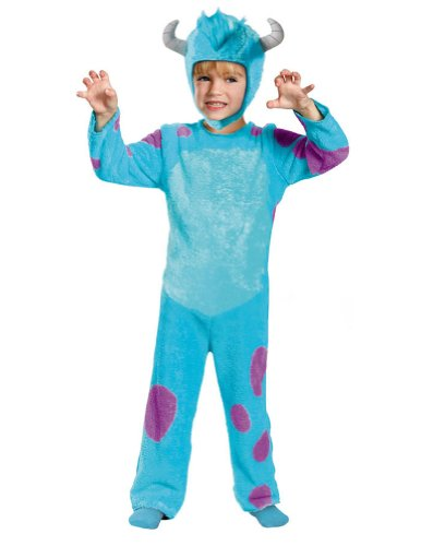 Sulley Classic Toddler Costume Size: 4 - (Sulley Monster Inc Costume)