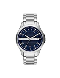 Armani Classic AX2132 Men's Wrist Watches, Blue Dial