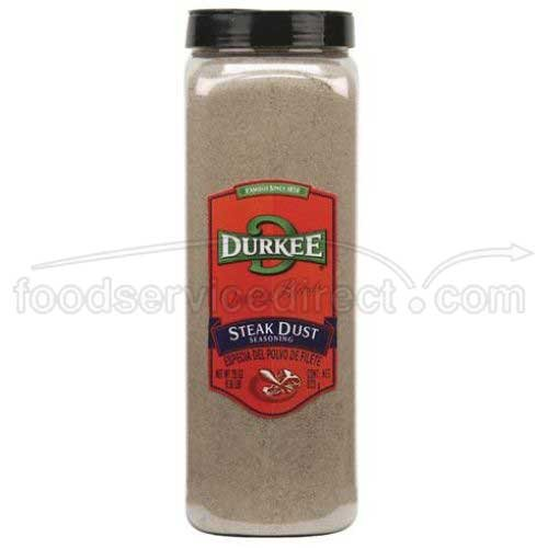 Durkee Steak Dust Seasoning - 29 oz. container, 6 per case by Durkee