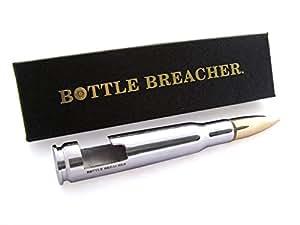 50 Caliber BMG Chrome Bottle Breacher Bottle Opener with Gift Box Made in the USA