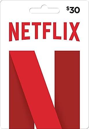 Amazon.com: Netflix N Gift Card $30: Gift Cards