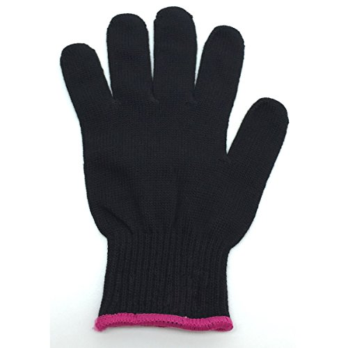 WinTech Professional Heat Resistant Glove for Hair Styling - Heat Insulation for Hair Iron and Curling Tools, Suitable for Left and Right Hands (glove) Unisex (Heat Glove Hair compare prices)