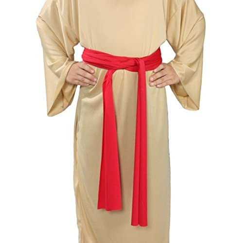 Top Alexanders Costumes Story of Christ Biblical Sash Child Costume, Red, One Size for cheap