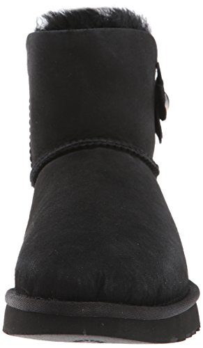 Femme Bailey De Australia Bottes Button Noir Neige Poppy Mini Ugg q61w8Efx6