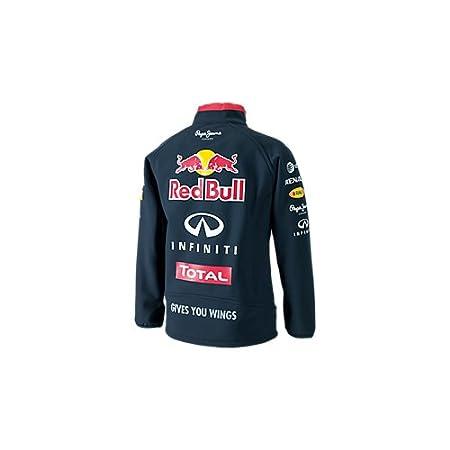 Red Bull Racing Teamline Chaqueta Softshell para Niños, Azul ...