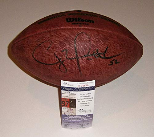s Autographed Signed NFL Duke Game Football - JSA Authentic Memorabilia Autographed Signed ()