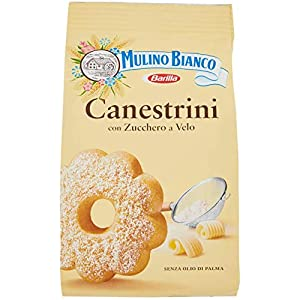 6x Biscotti Mulino Bianco Canestrini Zucchero Rivestito Biscotti 200 g