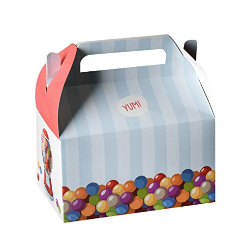 (Hammont GUMBALL/ CANDY Treat Boxes 10 Pack - 6.25