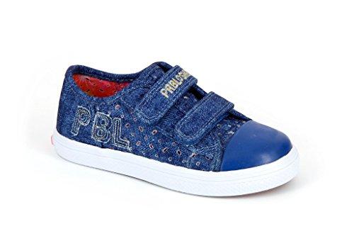 Pablosky 933620 - Zapatillas con velcro  infantiles Azul