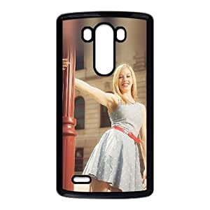 LG G3 Cell Phone Case Black_ha59 gracie gold street sports girl face Mmfiq
