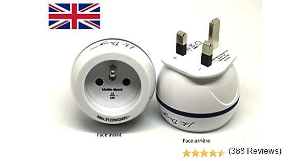 LTE Design - BB0165 - Adaptador de viaje ESPANA para Gran Bretaña ...