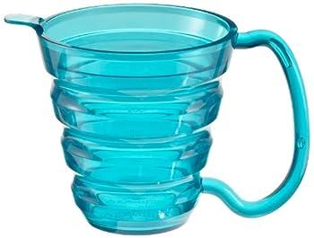 Ableware 745740000 Translucent Blue Ergo Mug, 9.5 oz Capacity