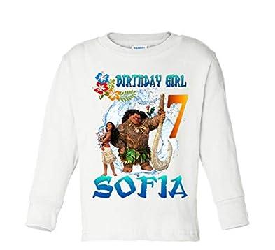 Amazon Moana Birthday Shirt And Maui Tshirt