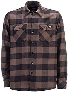 Camisa de Hombre Dickies Sacramento Manga Larga Gris Gravel Grey 2XL Gris: Amazon.es: Coche y moto