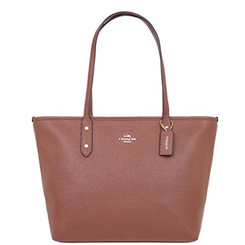 Coach Bag (Tote Bag) F58846 Leather Tote Bag Women's [Outlet Item] [Parallel Import Goods] (Saddle 2) by Coach (Image #3)