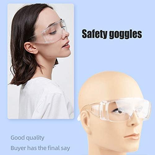 gafas de seguridad protecci/ón de los ojos N // A Gafas de seguridad para laboratorio accesorios para el hogar lentes transparentes para el lugar de trabajo antipolvo