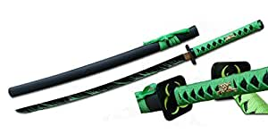 "41"" Zombie Fighter Samurai Sword with Black Blade"