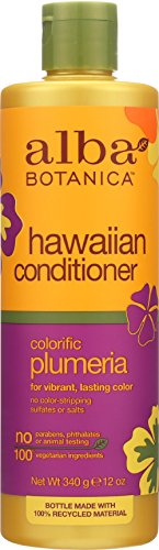 (Alba Botanica Hawaiian Plumeria Conditioner, 12 oz)