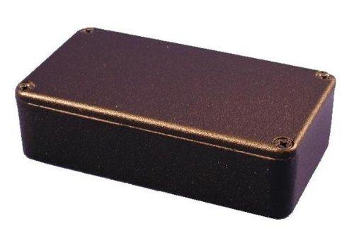 Enclosures 1590N1BK 1590N1 BLACK POWDER Boxes, & Cases 4.8 X 2.6 X 1.6 by Hammond Manufacturing