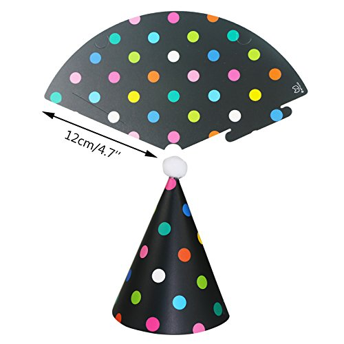 Wubao Birthday Party Hats Fun Party Hats Set For Kids And Adults